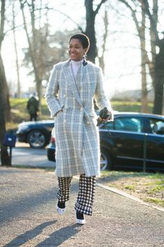 Pin for Later: Ciao, Milano! The Best Street Style From MFW MFW Day Two Tamu McPherson