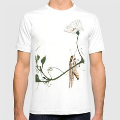 Buy Grasshopper on Gourd Vine B T-shirt by artysmedia. Worldwide shipping available at Society6.com. Just one of millions of high quality products available.