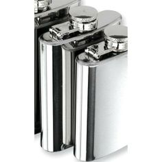 Polished Stainless Steel 4oz Hip Flask Perfect Gift Idea goldia. $40.93