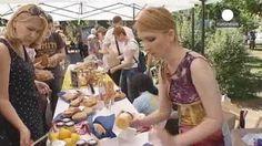 Ucrania celebra el Día Mundial del Refugiado con una feria de productos tradicionales