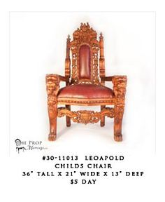 Leopold is great for that Little Prince or Princess! Cheap Office Chairs, Chairs For Rent, Child Chair, Armchair, Princess, Children, Home Decor, Sofa Chair, Young Children