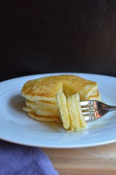 The softest pancakes with secret ingredient potato flour