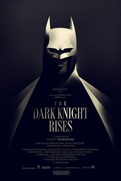 Officially-licensed poster for The Dark Knight Rises.