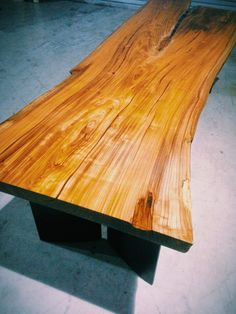 slapwood 통나무테이블