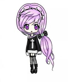 kawaii emo anime - Google Search