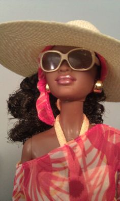 or maybe this is Mama on vacation #Divadoll