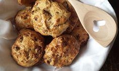 Healthy kwarkbollen, aanradertje en het recept is te vinden op It's Pure Food