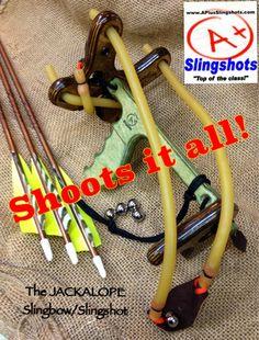 Camping slingshot fishing bow fishing pinterest for Mini crossbow fishing