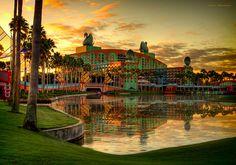 Disney Resorts -- The Swan