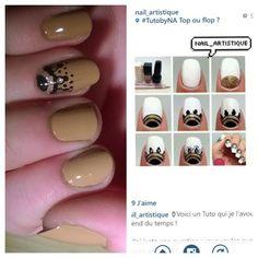 Image result for rimmel london. New Nail Art J'ai utilisé le vernis : • F13 Color Cream ( Marron