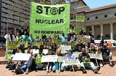 Greenpeace and partner Civil Society organisations marched in Jozi for a nuclear-free SA Civil Society, Civilization, South Africa, Dolores Park, Free, Travel, Organizations, Trips, Viajes