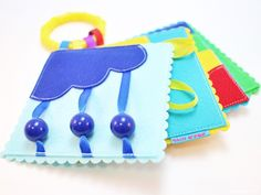 Items similar to Quiet Book Pattern Pocket Sized Felt Baby's First Play Quiet Book PDF Pattern on Etsy Diy Quiet Books, Baby Quiet Book, Felt Quiet Books, Baby Crafts, Felt Crafts, Diy For Kids, Crafts For Kids, Sensory Book, Quiet Book Patterns