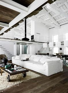 lounge. #whitecouch #decor #interiors