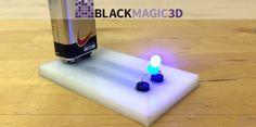 Graphene 3D Lab Launches BlackMagic3D Filament Brand & New Graphene 3D Printing Material $GGG http://3dprint.com/51502/black-magic-3d-graphene/