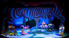 """seussical sets ideas   Scenic Design for """"Seussical the Musical"""" on Behance"""