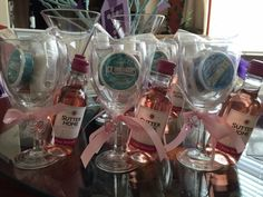 Baby Shower gifts for game winners. I created this gift with Ice breaker mints…