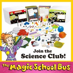 Who doesn't love The Magic School bus? Magic School Bus Science Club Kit for only $119.99. That is more than 50% off!