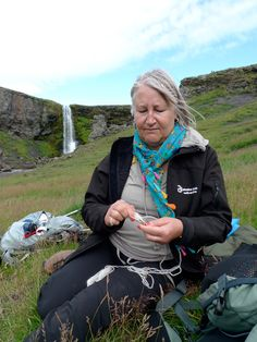 """Hélène has a most wonderful way of leading these trips in an encouraging and non-threatening way and the knitting time was magical. Thank you, thank you for an amazing experience.""  Sally Cooper, knitter (UK)    http://icelandicknitter.com"