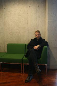 Cyprian Nocoń green chair Academy 2017  January