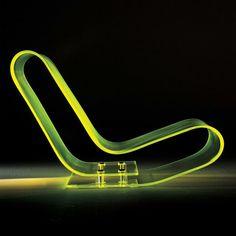 Low Chair Plastic by Maarten van Severen. @designerwallace