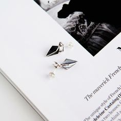 Peak earings, silver and attitude!  http://www.nordicjewel.com/product/672/tanna-rantanen--tanna-design---peak-stud-earrings