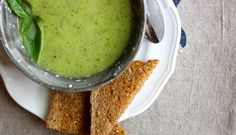 Try it today! This creamy zucchini and basil soup is a must-try.   Be Well Philly