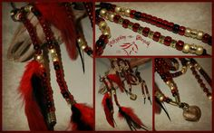 Natural horsemanship rhythm bead necklaces and coordinating accessories for horses by Rhythm-n-Beads