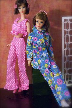 Barbie - Mod Era Barbies, Hair Fair Barbie and TNT Barbie