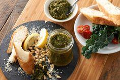 松の実とケールのチャイニーズグリーンセサミペースト | レシピ | 小島屋