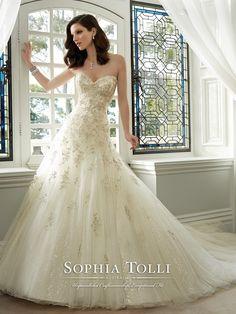 Sophia Tolli - Kim - Y11630 - All Dressed Up, Bridal Gown