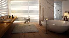 25 Modern & Luxury Bathroom Interior Ideas - Interior Design