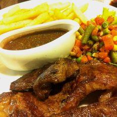 Sirloin Steak  - d'Barleys Bakery & Restaurant - Roti & Kue - Bangka Belitung - Other Cities