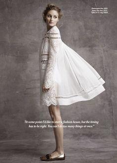 Olivia Palermo For Harper's Bazaar Australia