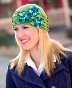 Greta Cloche Hat - Free Sewing Pattern