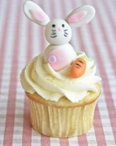 #easter cupcake bunny cute
