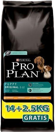 Pro Plan Puppy Orginal Chicken & Rice - Köpek Maması 14 + 2.5 Kg.