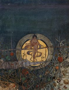 charles rennie mackintosh, the harvest moon, 1892