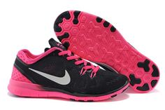 Exceed off Womens Nike Free 718932 001 Black Hyper Pink White - Click Image to Close Free Running Shoes, Nike Free Shoes, Nike Shoes, Sneakers Nike, Nike Running, Nike Air Max Ltd, Nike Free Run 3, Tn Nike, Nike Pas Cher