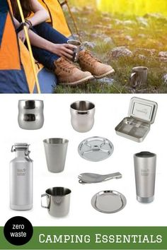These stainless steel camping goods will help us to create less trash and being a more responsible camper. We need to respect and return our love to the earth while it provides us the vibes that we needed. #zerowaste #campinggoods #stainlesssteeltumblers #lifewithoutplastic #ecofriendly
