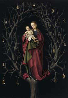 Our Lady of the Dry Tree, Petrus Christus (Flemish artist) ca. 1465