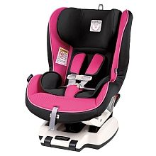 Peg Perego Primo Viaggio Convertible Car Seat - Fuscia  Tip: Having your toddler or pre-schooler help pick out their car seat may make it easier to get them to go in it.   Learn how to properly install your car seat in your car at a free workshop, sign up here: www.safeandsure.ca