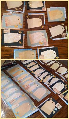 Finished my travel themed door decs! Maps from Goodwill Bookstore (99c) cut up & Easy step by step instructions for making paper suitcase ... Pezcame.Com