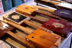 The Cigar Box Guitar Maker When a promising rock musician tired of the road and the pressure, he gave up music and got a job at a hardware store. Then one day, he had a revelation. By Nancy Lebrun.
