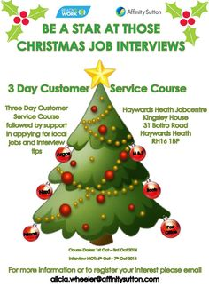 Customer Service Course - Be a star at those job interviews.