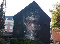 regram @powwowworldwide New mural by @axelvoid in Aalborg #Denmark for @weaartdk.