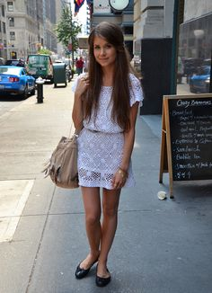 cute crotchet dress!