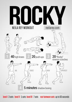 Rocky Workout neilarey.com | #fitness #bodyweight