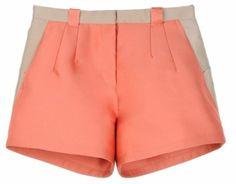 that peach shorts and a cute top