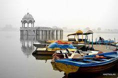 Gadisagar Lake. Jaisalmer, Rajasthan
