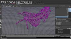 MakingOf Centipede Creature Rig